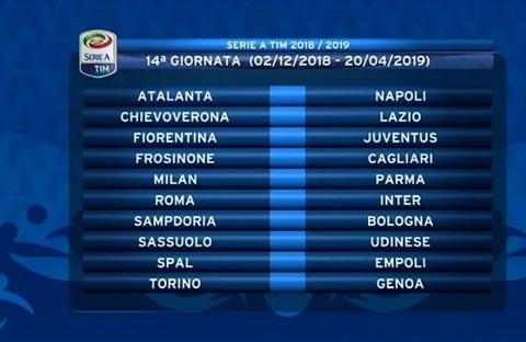Calendario Serie A 12 Giornata.Il Calendario Di Serie A 2018 19 Lazio Napoli Alla Prima