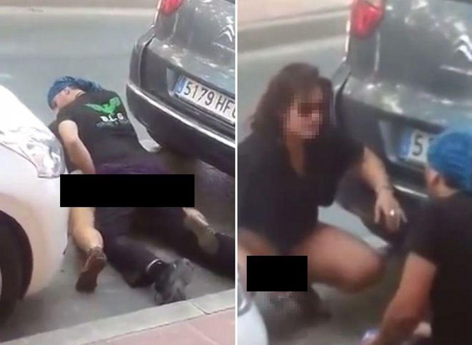Auto girato sesso video
