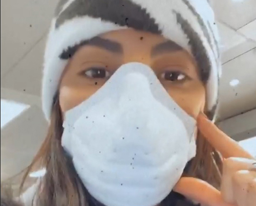 tuta e mascherina antivirus
