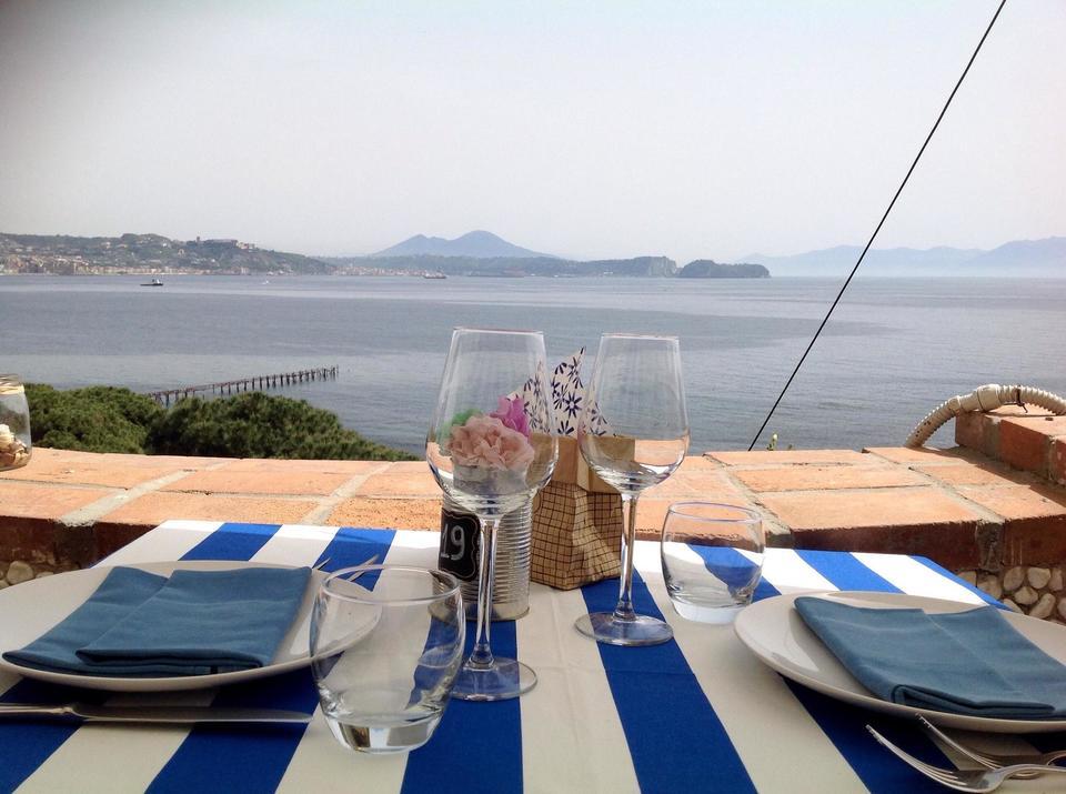 Bacoli Cena Con Panorama Sul Golfo A Casa Nostra Paradiso