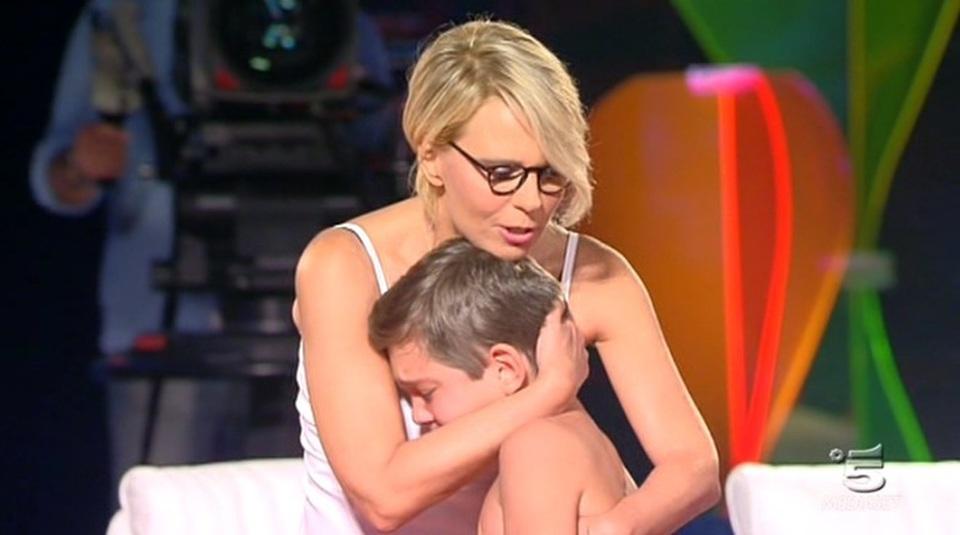 Maria De Filippi in lacrime a Tù Sì Que Vales: tutta colpa di un ragazzino di 12 anni