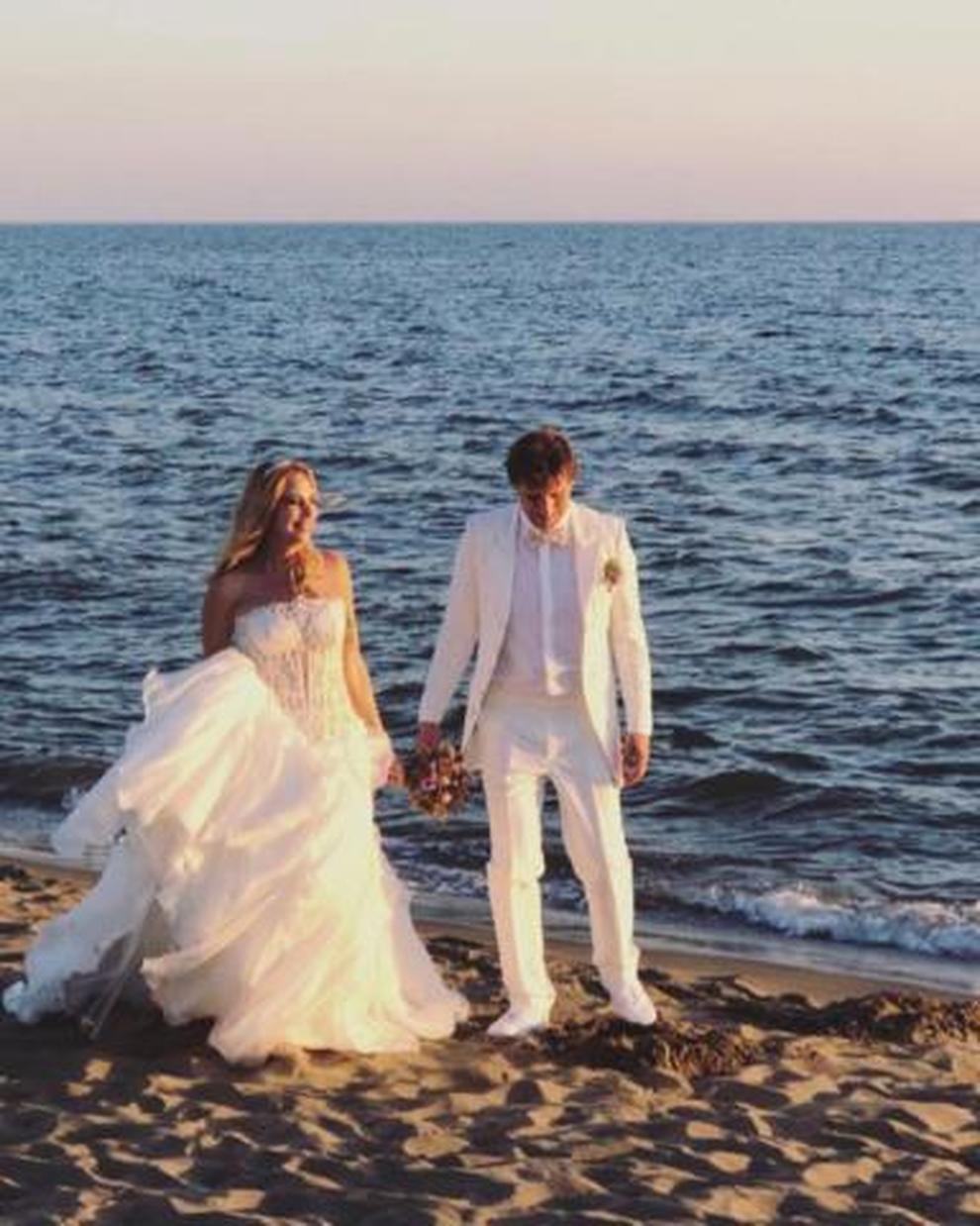 Matrimonio In Spiaggia Lampedusa : Stefania orlando si sposa le foto più belle del matrimonio sulla