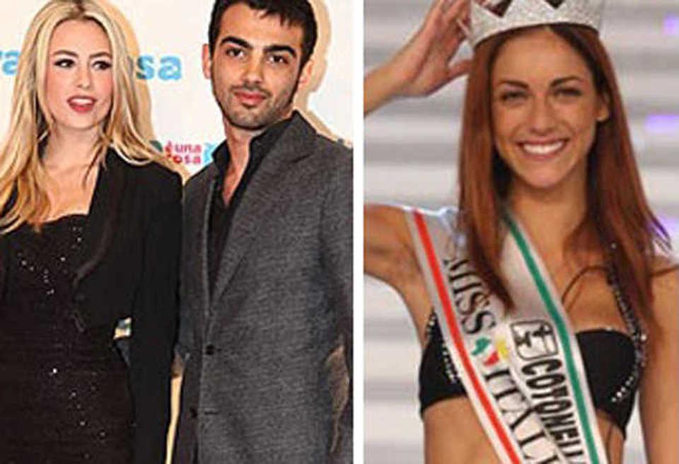 Martina Stella Con Lex Primo Reggiani Miriam Leone E Il Figlio Di