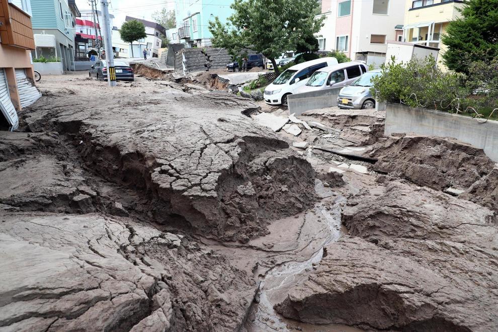 Terremoto di 6 7 in giappone 9 morti decine di feriti for Case in giappone