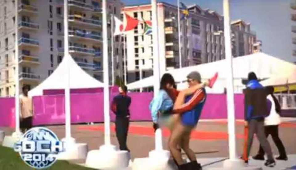orgia villaggio olimpico