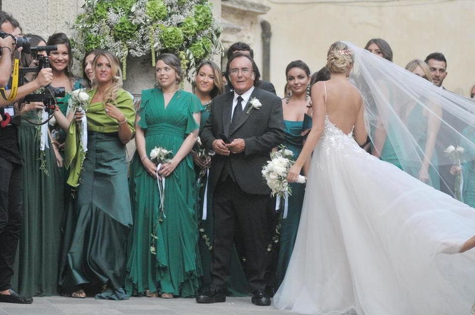 Amato Cristel Carrisi, nozze vip a Lecce per la figlia di Al Bano | FOTO  DH59