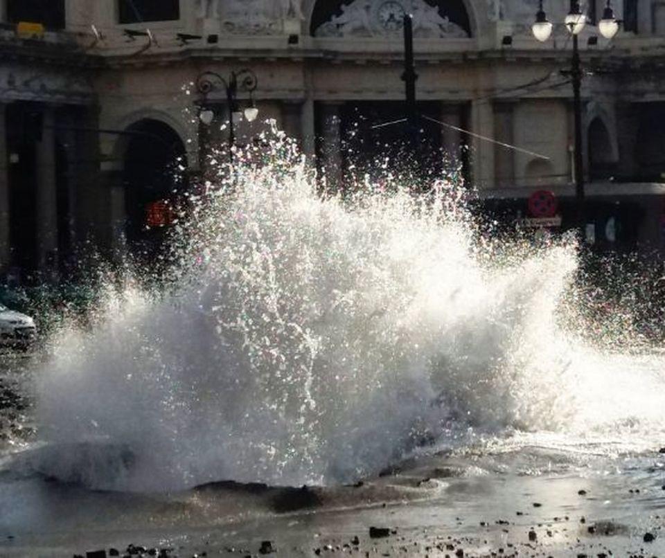 GENOVA Citta' allagata: ControCorrente attacca Doria (da Genova24)