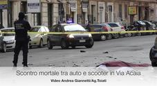 Roma, scooter contro Smart: un morto a San Giovanni