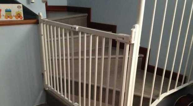 Ikea ritira i suoi cancelletti per le scale 3 bimbi - Cancelletti per bambini ikea ...