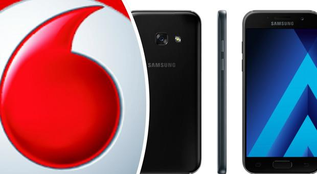 Black Friday, Vodafone regala un Samsung Galaxy A3