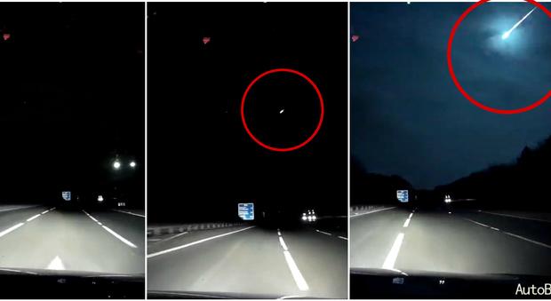 All 39 improvviso una luce dal cielo meteorite o stella for Meteorite milano