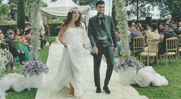 Micol Azzurro Matrimonio : Micol olivieri matrimonio col pancione le mie nozze in