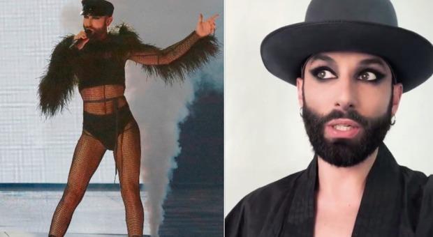 Conchita Wurst, dall'Eurovision al parlamento europeo: il video su Twitter, volano insulti dal web