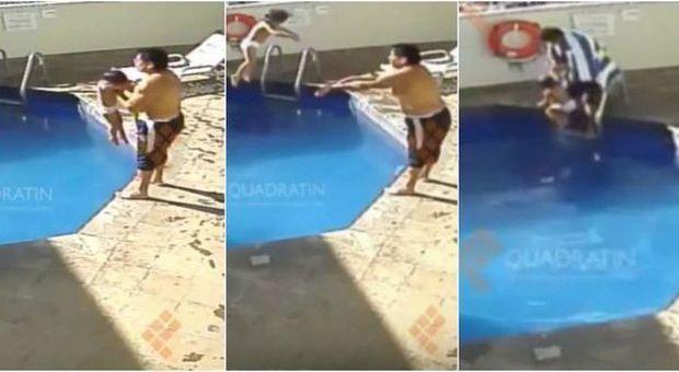 Il patrigno la getta in piscina mentre mamma dorme la bimba muore annegata esteri - Borsone piscina bambina ...