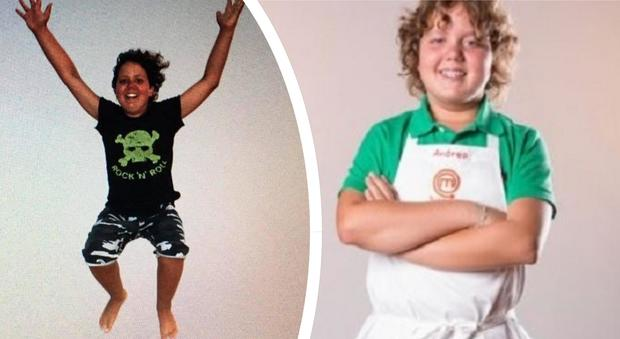 Masterchef in lutto: morto Andrea, concorrente dell'edizione Junior