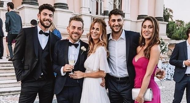 Matrimonio Bossari Lagerback : Cecilia roderiguez gaffe e parolacce al matrimonio di