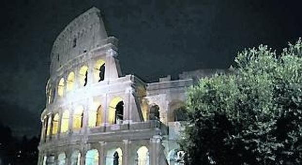 Flavia Scicchitano Il Colosseo torna a splendere anche di notte: 120 ...
