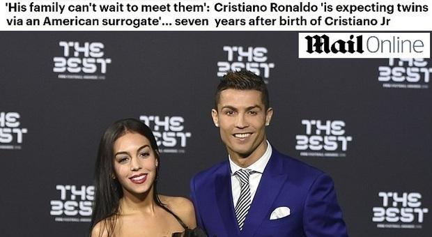 Cristiano ronaldo e georgina aspettano due gemelli - Reality show gemelli diversi ...
