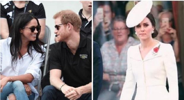 """Kate Middleton furiosa con il principe Harry e la fidanzata Meghan: """"Quella camicia bianca..."""""""