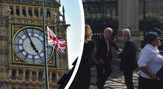 Londra, rientrato l'allarme incendio in Parlamento dopo l'evacuazione