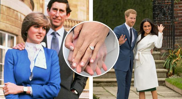 Harry e Meghan sposi, ecco l'anello realizzato con i gioielli di Diana: vale oltre 113mila euro