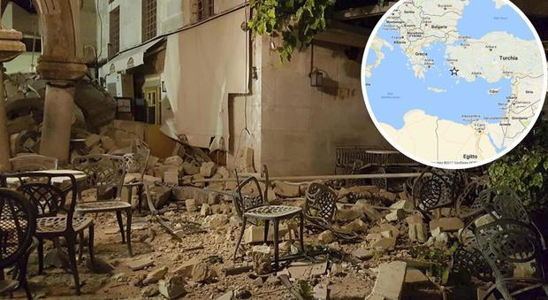 Kos, terremoto di 6.7 seguito da forti repliche. Morti un turco e uno svedese, 200 feriti