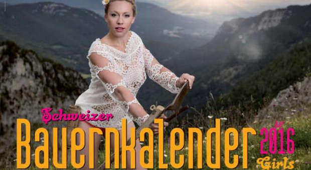 Calendario Contadine Svizzere.Il Calendario Sexy Delle Contadine Svizzere