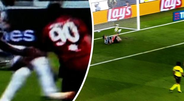 Serie A, in Juve-Cagliari il primo rigore assegnato con il Var contro i bianconeri: ma Buffon lo para