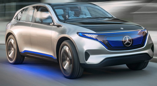 La Mercedes-Benz Generation EQ concept