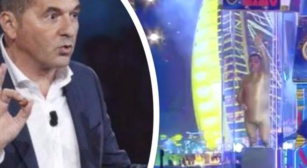 "Tu si que vales semifinale, Teo Mammucari choc: ""Licenziatemi pure"". Poi lancia petardi al concorrente"