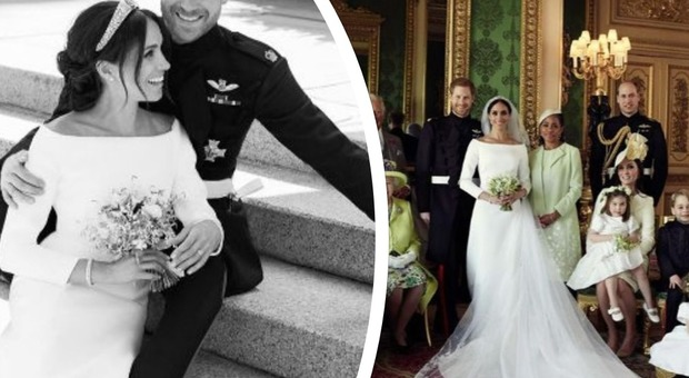 Royal Wedding, ecco le foto ufficiali delle nozze di Henry e Meghan