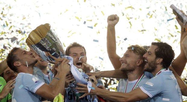 La Supercoppa va alla Lazio: doppio Immobile, Murgia respinge la rimonta della Juve. E' 3-2