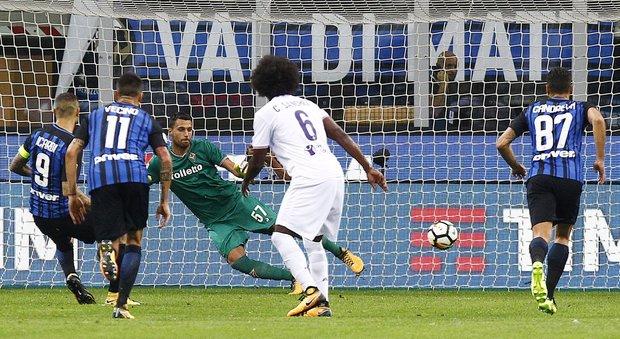 Inter-Fiorentina 3-0: doppio Icardi e Perisic valgono il successo