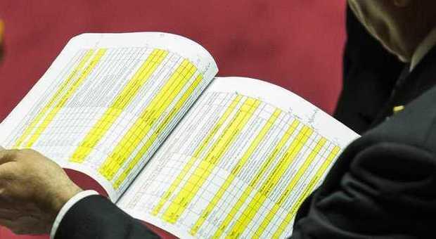 Legge di stabilit il governo pone la fiducia sul for Calendario lavori senato approvazione