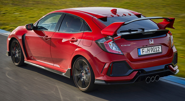 La grintosa Honda Civic Type R