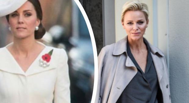 Kate Middleton e Charlene di Monaco: ecco il mistero che unisce le due principesse