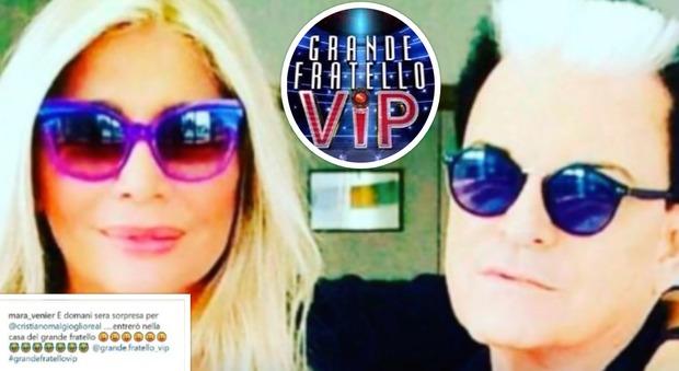 Mara Venier entrerà nella casa del Grande Fratello Vip, annuncio sui social
