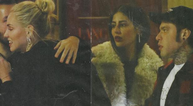 Chiara Ferragni incontra l'amico e lo saluta. Fedez rimane di sasso