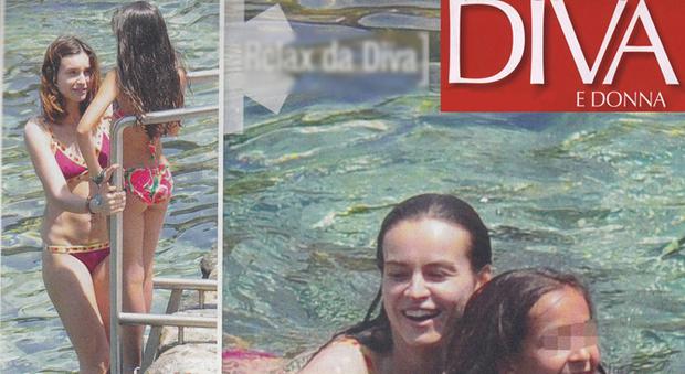 Kasia smutniak bikini in famiglia al mare col compagno e i figli news - Diva e donne giornale ...