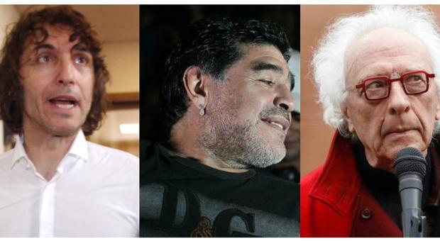 Maradona, Mughini: «Era sfatto e disperato». La Zanzara choc: «Non si può  piangere un cocainomane» VIDEO