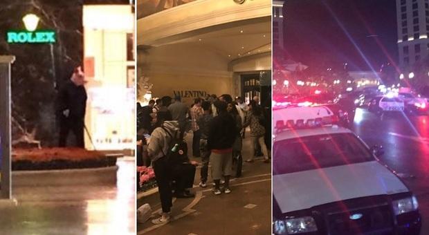"""Las Vegas, panico al Bellagio: clienti in fuga. """"Ci sono stati spari"""", la polizia nega"""