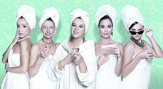 39 il bagno 39 al teatro manzoni amanda e stefania sandrelli recitano insieme teatro - Il bagno teatro ...