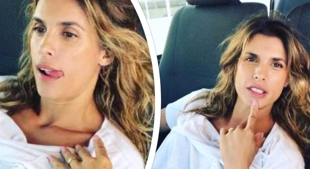 """Elisabetta Canalis struccata: """"Io sexy? Mi sento un cesso a pedali"""""""