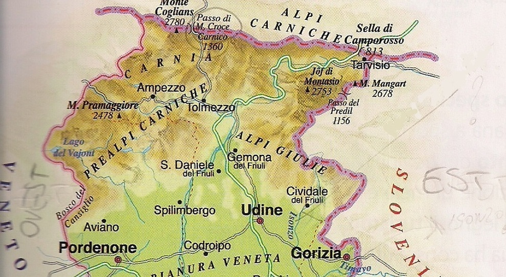 Cartina Slovenia Pdf.Cartina Stradale Slovenia Da Stampare