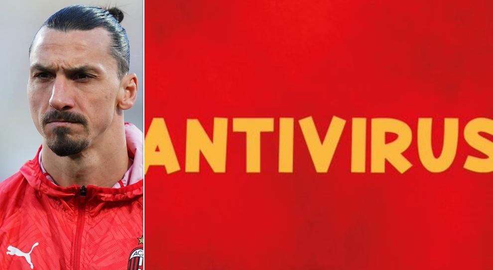 Zlatan Ibrahimovic e il tweet con la scritta Antivirus: ecco cosa sta  succedendo