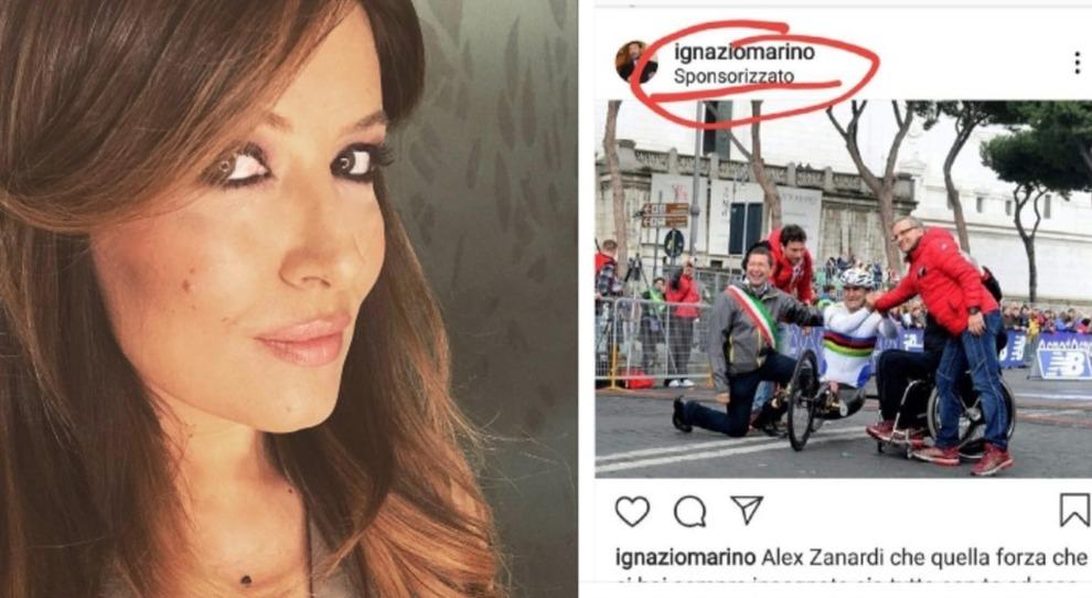 Selvaggia Lucarelli bacchetta Ignazio Marino per la foto ricordo ...