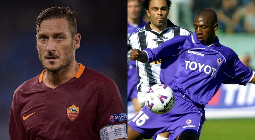 Francesco Totti, l'accusa di Amaral: «È un razzista, in campo mi chiamava  negro». L'ex capitano della Roma pronto alla querela