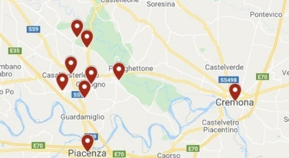 Cartina Basso Piemonte.Coronavirus La Mappa Dei Contagi In Italia Lombardia E Veneto Le Regioni Piu Colpite