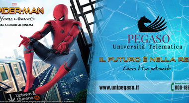 'Spiderman: Homecoming' e Università Pegaso, ecco la campagna in comune