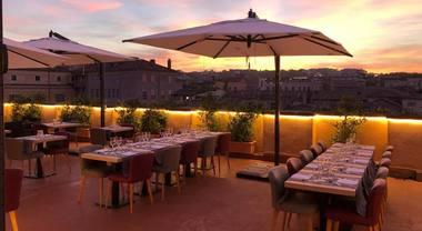 Ego Bistrot Cena Romantica In Terrazza Con Vista Su Roma